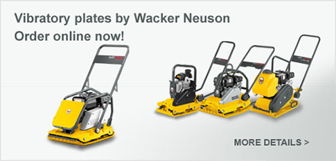 Buy now Wacker Neuson Vibratory Plates