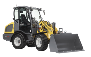 Articulated wheel loader WL38