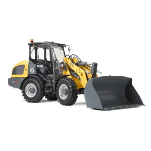 Articulated wheel loader WL54