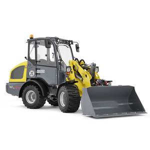 Articulated wheel loader WL34